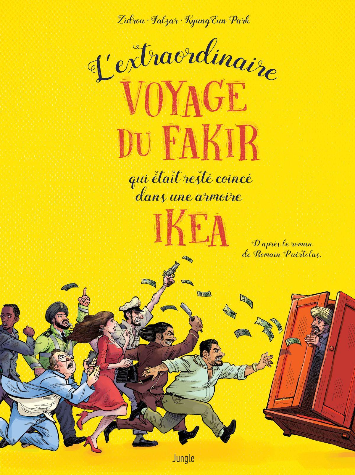 Bd L'extraordinaire Voyage Du Qui Était Dans Fakir Coincé Resté — RLq5j3A4