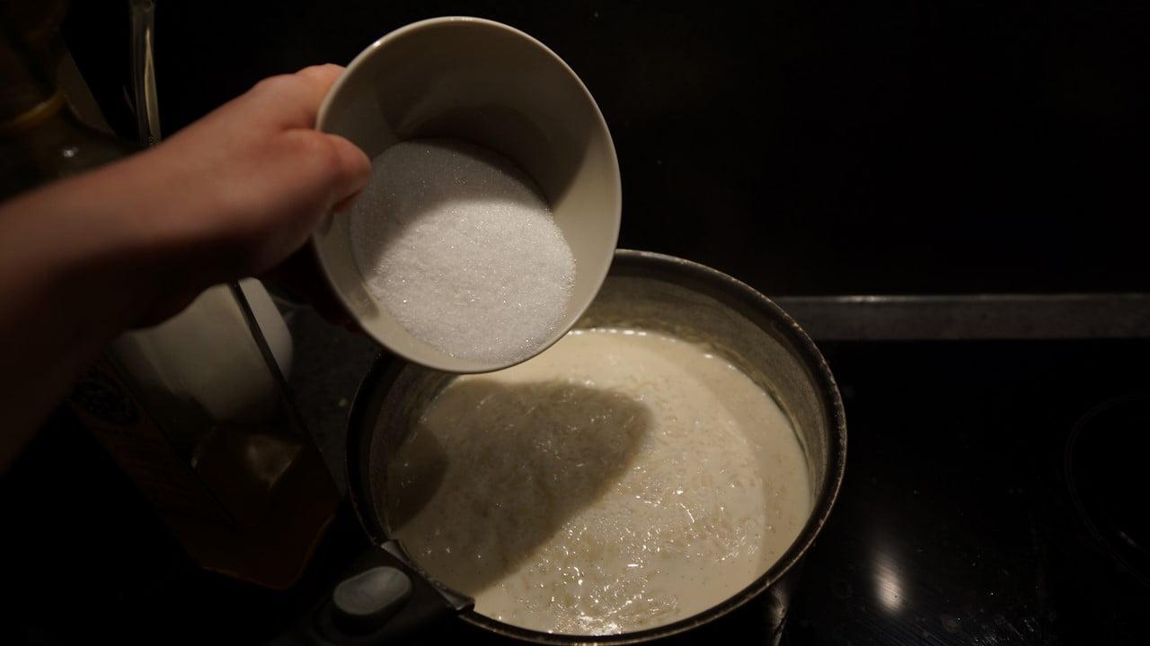 Recette riz au lait vanill aux framboises - Peut on donner du riz cuit aux oiseaux ...